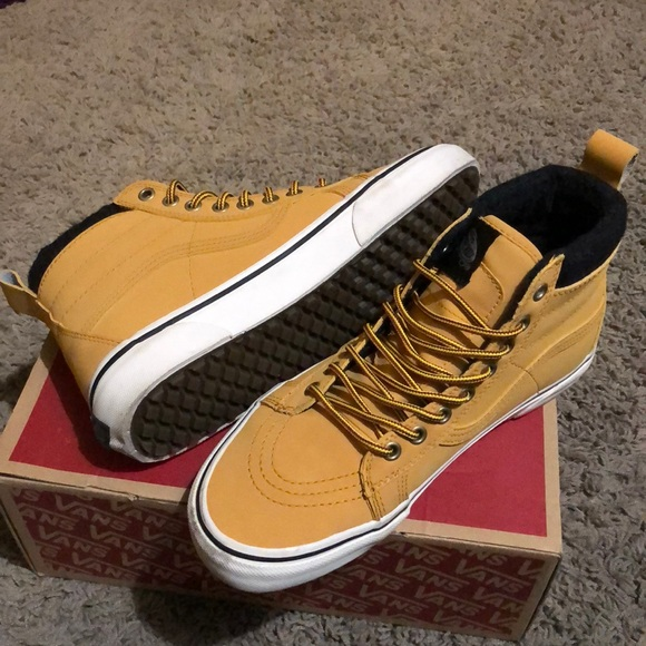 9daec189c7ff86 Vans Sk8-HI MTE Honey Leather. M 5a8e181631a3764a5bad25e9